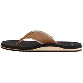 Sanük Beer Cozy 2 Sandals Men Tan/Tobacco
